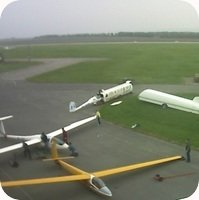 Letiste Vyskov Airport webcam