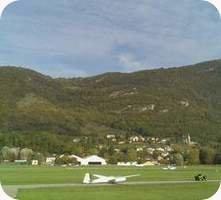 Aerodrome de Chambery Challes-les-Eaux Airport webcam