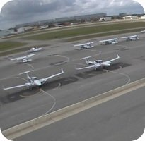 Daytona Beach Airport webcam