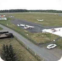 Flugplatz Jena-Schonglein Airport webcam