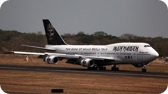 Iron Maiden Ed Force One 747-400 TF-AAK