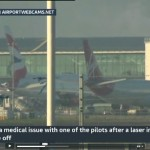 Virgin Atlantic pilot laser attack
