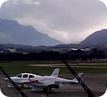 Aeroort Chambery Airport webcam