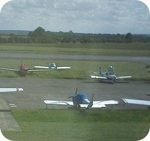 Conington Peterborough Airport webcam