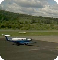 Harriman and West Airport webcam