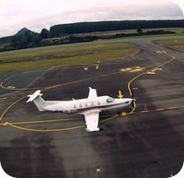 Taupo Airport webcam