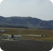 Wanaka Airport webcam