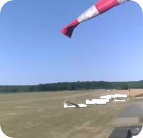 Aerodrome de Mantes-Cherence Airport webcam