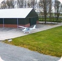 Vliegveld Middenmeer Airport webcam