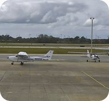 New Smyrna Beach Airport webcam
