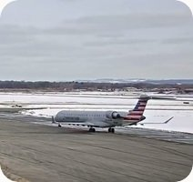 Syracuse Airport webcam