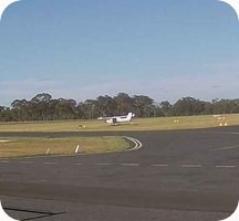Warwick Massie Airport webcam