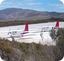 Bathurst Harbour/Melaleuca Airport webcam