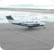 Melfort Airport webcam