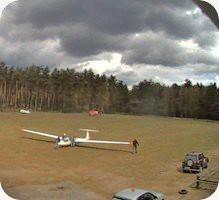 Flugplatz Grambeker Heide Airport webcam