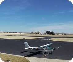 Moore County Airport webcam