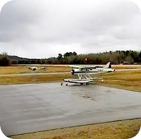 Haliburton Stanhope Municipal Airport webcam