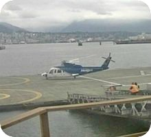 Vancouver Harbour Heliport webcam