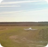 Aerodrome de Lesparre Saint Laurent Medoc Airport webcam