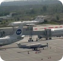 Strigino Nizhny Novgorod Airport webcam