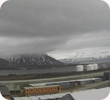 Flyplass Svea Airport webcam