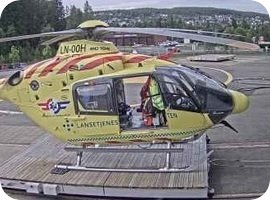 Norse Luftambulanse Lorenskog Helikopterplass helipad