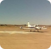 Hollister Municipal airport webcam