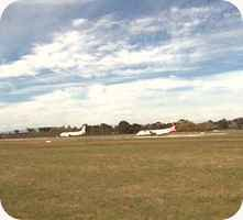Launceston Airport webcam