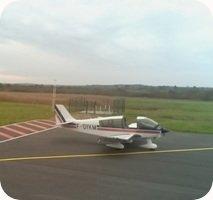 Aerodrome de Soulac-Sur-Mer airport webcam