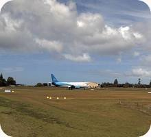 Norfolk Island Airport webcam