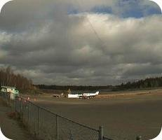 Round Lake Weagamow Lake Airport webcam