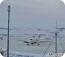 Teller Airport webcam