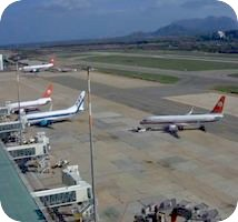 Aeroporto di Olbia Costa Smeralda Airport webcam