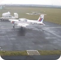 Letiste Kolin Airport webcam