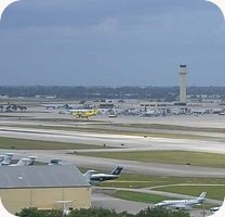 Palm Beach Airport webcam